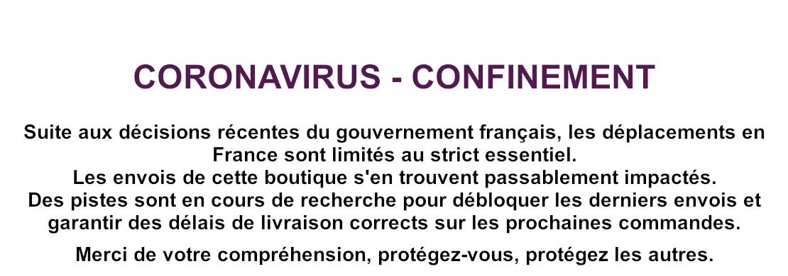 Coronavirus - confinement et retards